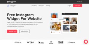 Taggbox Widget for Instagram