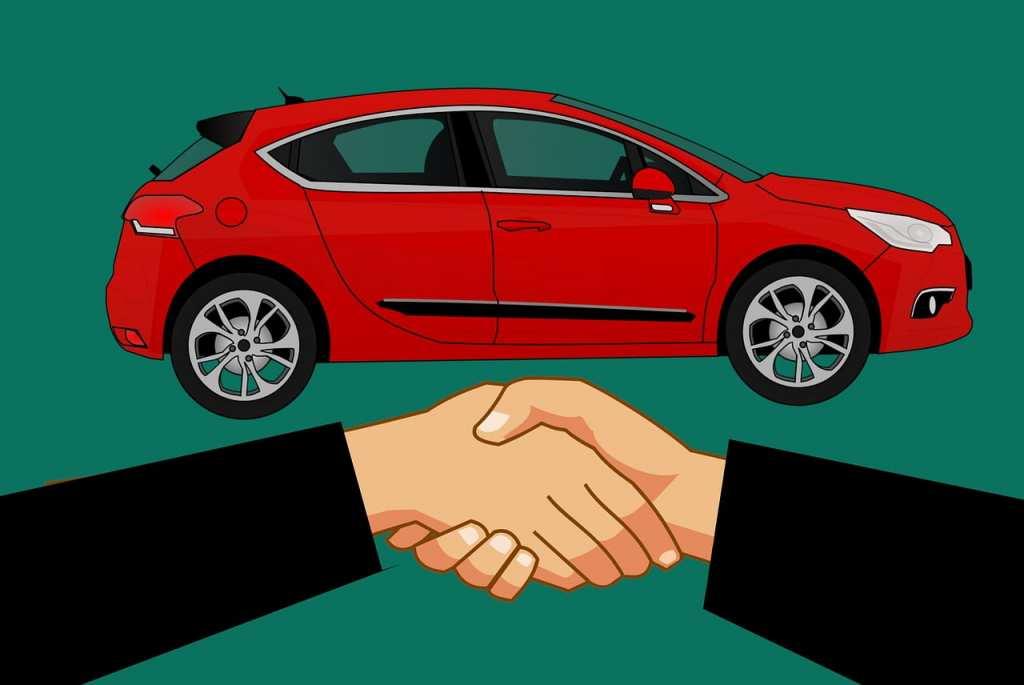 renting a car
