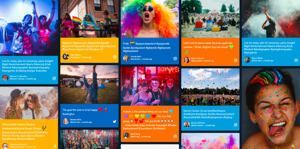 Instagram Wall Best Practices For Virtual Events - What are the strengths of the virtual and hybrid events?