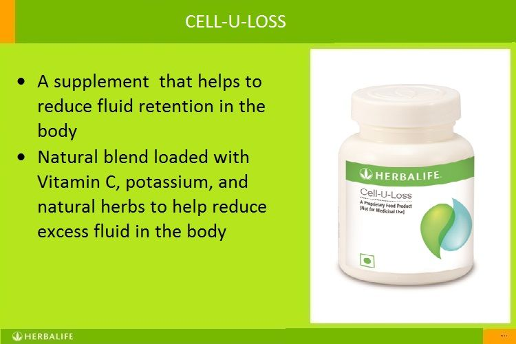 Herbalife cell u loss cell activator