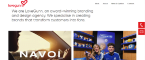 lovegunn 300x124 - Top 20 Branding Agencies in London 2021