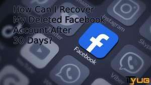 deleted Facebook